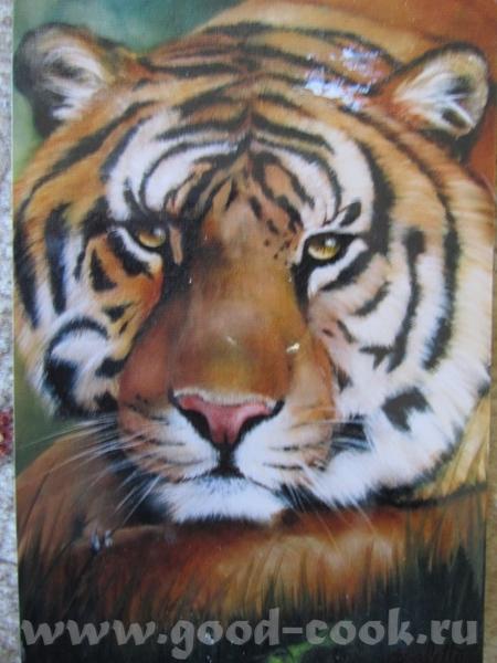 Ягуар с детенышем Тигр 2 (в краске фото ) - 6