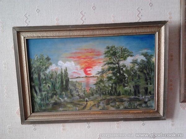 ..........Тамара...облака кистью не получаются у меня....рисую пальцем и растушевку тоже почти пальцем....иногда беру...