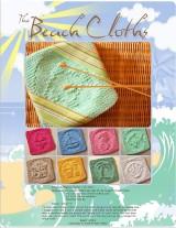 The Beach Cloths (вязание спицами) Интересно вывязанные узоры на квадратных мотивах