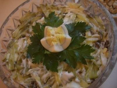 Мои благодарности за салаты: салат с курицей, огурцами и тыквенными семечками и салат с печенью Пер...