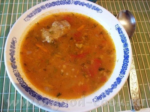 Суп из лечо Варю обычный мясной суп, но в основе его лежит банка лечо