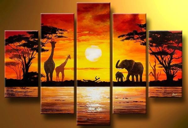 У меня на папке вот такое лежат- Afrika Art Decor
