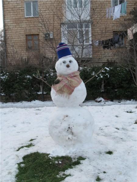 У нас тоже зима