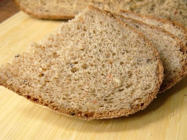 Ржаной хлеб на закваске от Ayn с моими изменениями