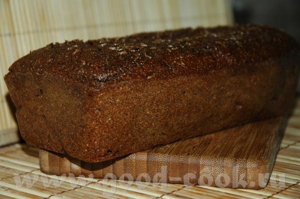 Пряный латвийский хлеб по ГОСТу из рецептов Людмилы mariana_aga , рецепт: на один хлеб весом пример...