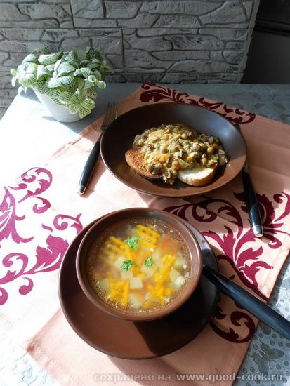 кабачковый обед