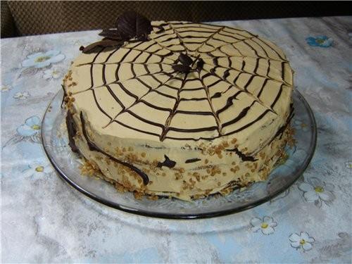 """А у меня торт """"Черный принц"""" в скромном исполнении, но не менее вкусный - 2"""