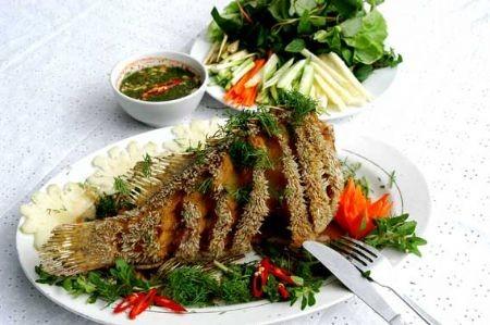 Жареная рыба по-вьетнамски Существует множество самых разнообразных способов жаренья рыбы, однако в...