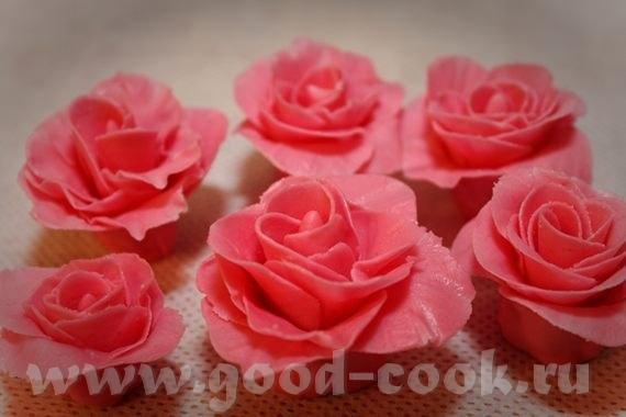 Лепка роз есть несколько вариантов - 3
