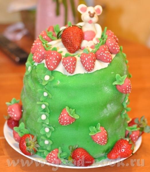 Торт на ДР дочки (9 лет) - 2