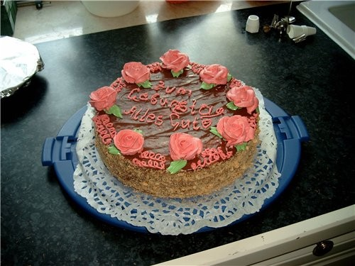 Этот торт я делала ещё в нач