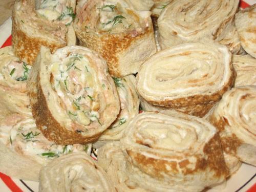 Рулетики из лаваша жареные с разными начинками рецепты пошагово