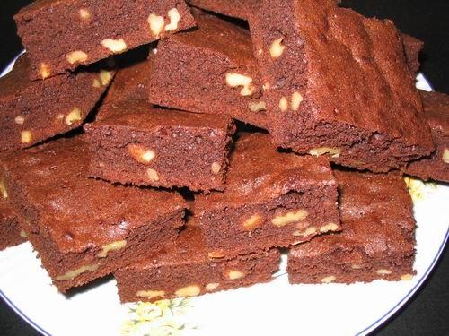 Сделала сегодня браунис, по рецептику с баночки какао, допишу позже