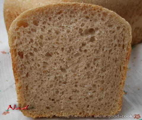простой хлеб на закваске