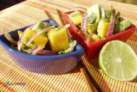 Свинина Адобо Салатик с манго и авокадо (обогаш`аемся витамином Е ) Чизкейк - 2