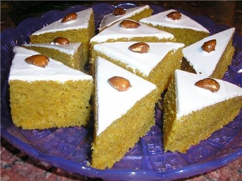 Эти пироженки очень нежные, практичекси никто не догадывается из чего они испечены