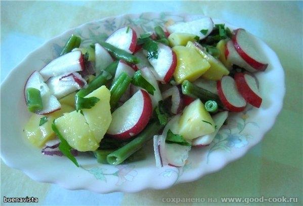 Овощной салат от Ирины Вайнерман с моими вариациями 500-600 гр картошки хорошо вымыть, (прямо в кож...