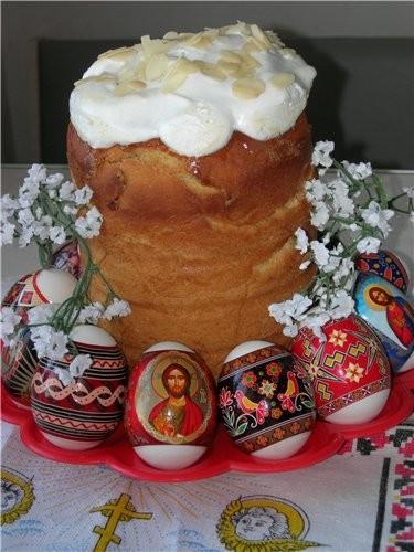 """Оля, принимай огромные спасибки от меня и всей моей семьи за рецепт """"Бабушкин кулич"""" - 2"""