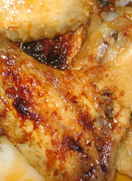 Куриные крылышки в кленовом сиропе