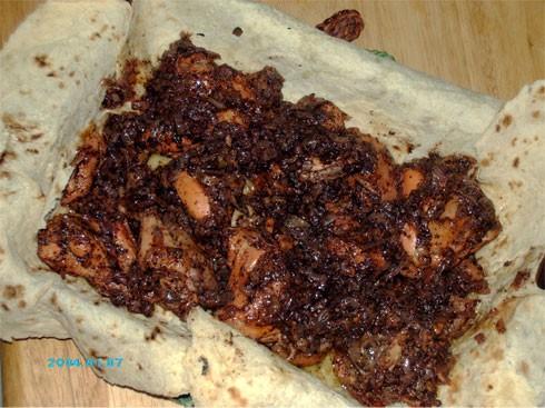 """Девочки, сегодня у меня очень вкусное и лёгкое в приготовлении блюдо палестинской кухни - """"Мсаххен"""""""
