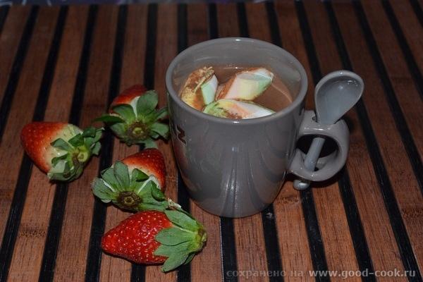 Девочки, хочу поделиться с вами рецептом горячего шоколада