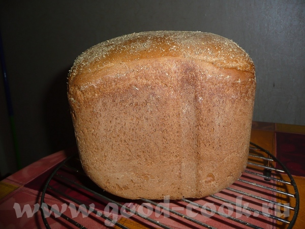 Ржано-пшеничный хлебушек на квасном сусле - 3
