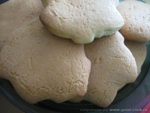 Вырезанное печенье помещаем на силиконовый коврик или бумагу для выпечки - 5