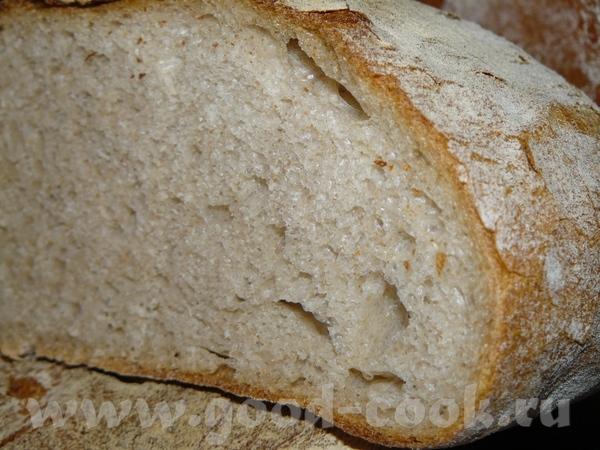 Хлеб смешаный с картошкой 100 г ржаной закваски 400 г тёмной хлебной муки (Тип 1050), где-то 1-2 со... - 3