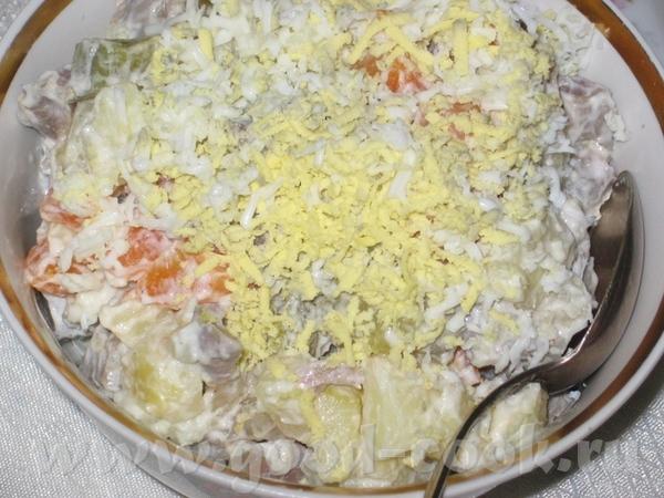 """Салат """"ОЗГОЧИ"""" (рецепт от с форума """"Альтанка"""", словами автора) """"Мне соседка как-то показала салат О..."""