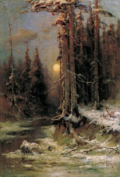 Юлий Клевер - русский живописец
