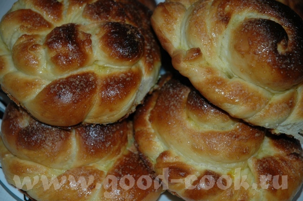 Тесто для сладких булочек с сухими дрожжами пошагово