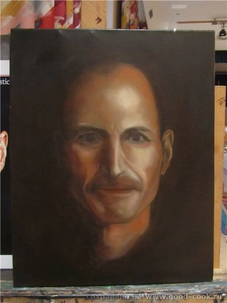 Техника создания портрета (мастер класс у М - 3