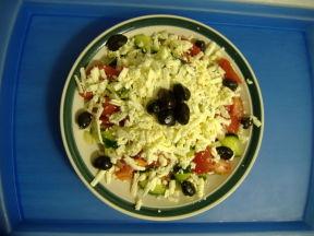 """""""Млечна салата"""" или""""Снежанка"""" отцеживаем через марлю в течении одной ночи йогурт(не кефир,а довольн... - 2"""