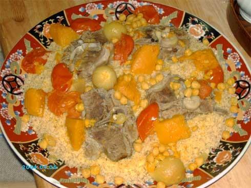 """На обед я приготовила сегодня очень вкусное палестинское блюдо """"Мафтуль"""", готовится оно из кускуса,..."""