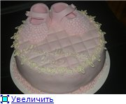 торт шкатулка торт акула-морское дно торт розовые босоножки в цветочках - 7
