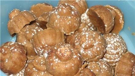 В форме *Брилиантовая россыпь* делали конфеты, а ля пироженое картошка