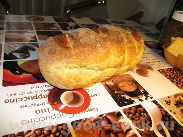 вот что у меня получилось с американским вчера: хлеб вышел пышний и вкусный, но вот трещина меня см... - 2