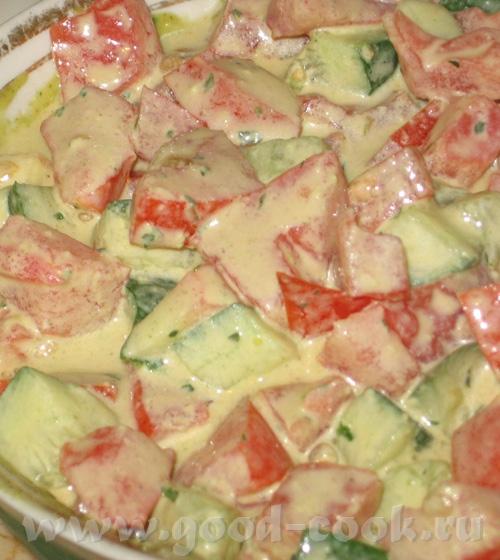 Острый салат с тхание соусом к рыбе от SeraFima Я делала его по рецепту, который Вика давала на сво...