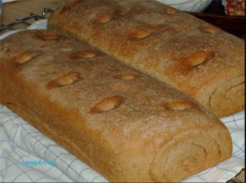 , вот мой цельнозерновой хлеб по очень простому рецепту