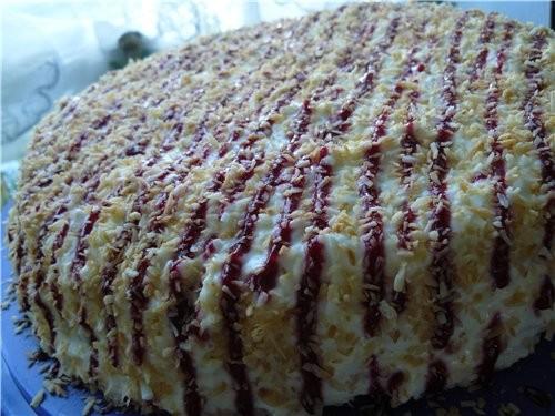 Маскарпоновый торт с кокосом oт Ани - Ангел - 2