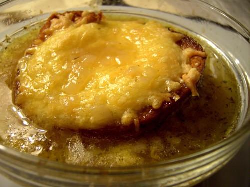 Суп луковый по рецепту