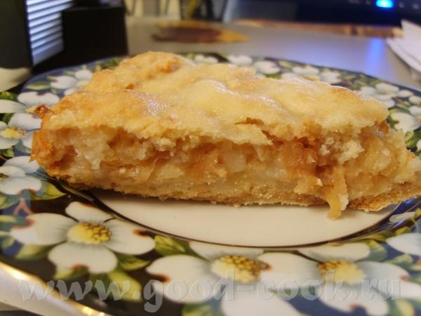 У нас сегодня на ужин Болгарский яблочный пирог