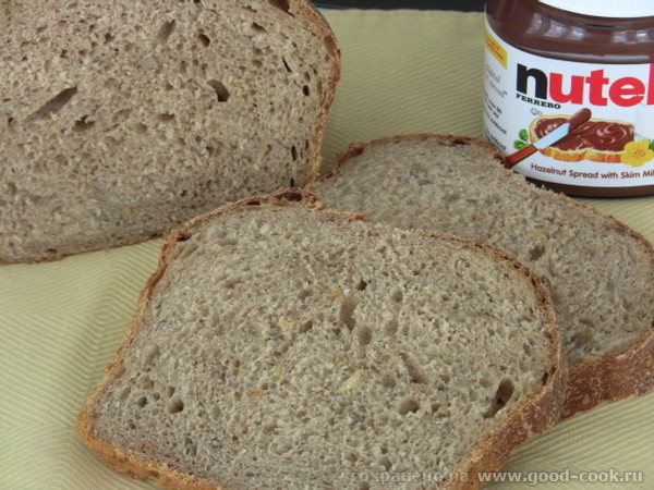 Настя,хлеб по мотивам твоего Хлеба на закваске с солодом и хмелем получился очень вкусный