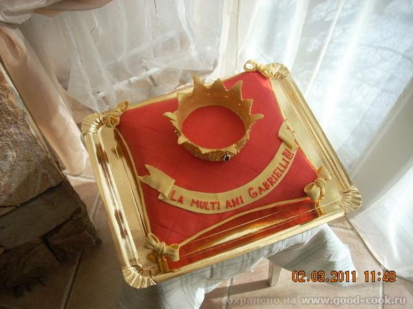 Корона на подушке,вес 4 кг - 3