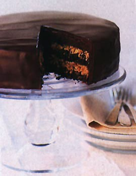 """Или тот что так и называется немецкий шоколадный торт """"German Chocolate Cake"""""""