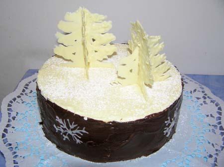 А это мой тортик на рождество