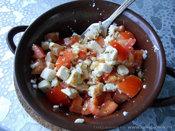 томаты с тофу