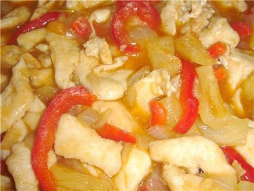 Курица по-китайски Сначала это был рецепт из свинины из журнала «Гастроном», а потом он плавно тран... - 2