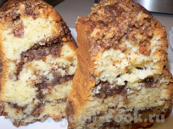 Спасибки за вкуснейший кекс с ореховой начинкой