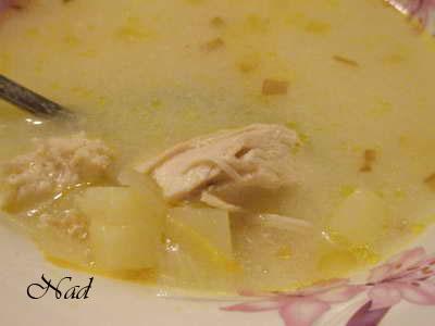 Аленочка, забирай спасибку за Куриный суп с лимоном Очень понравился супчик, вкус для нас был необы...